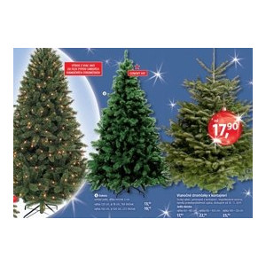 4e718b3b073f7 ARCHIV | Umelé vianočné stromčeky - Dakota v akcii platné do: 30.11.2017 |  Zlacnene.sk