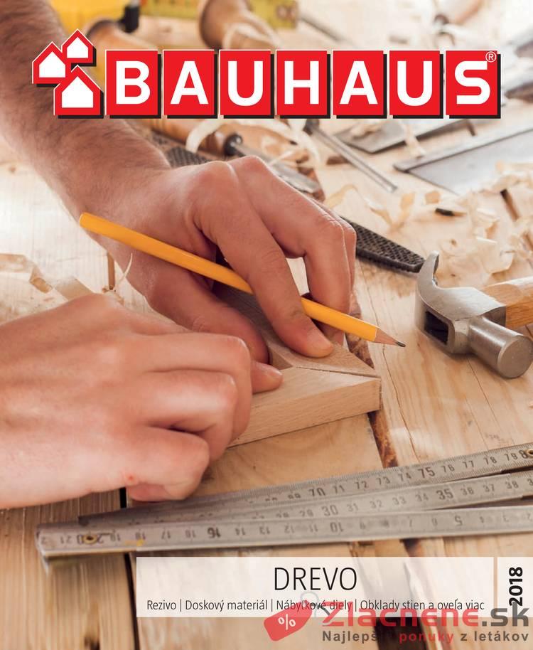 Leták Bauhaus - Bauhaus 24.10.2018 - 31.3.2019 Drevo - strana 1