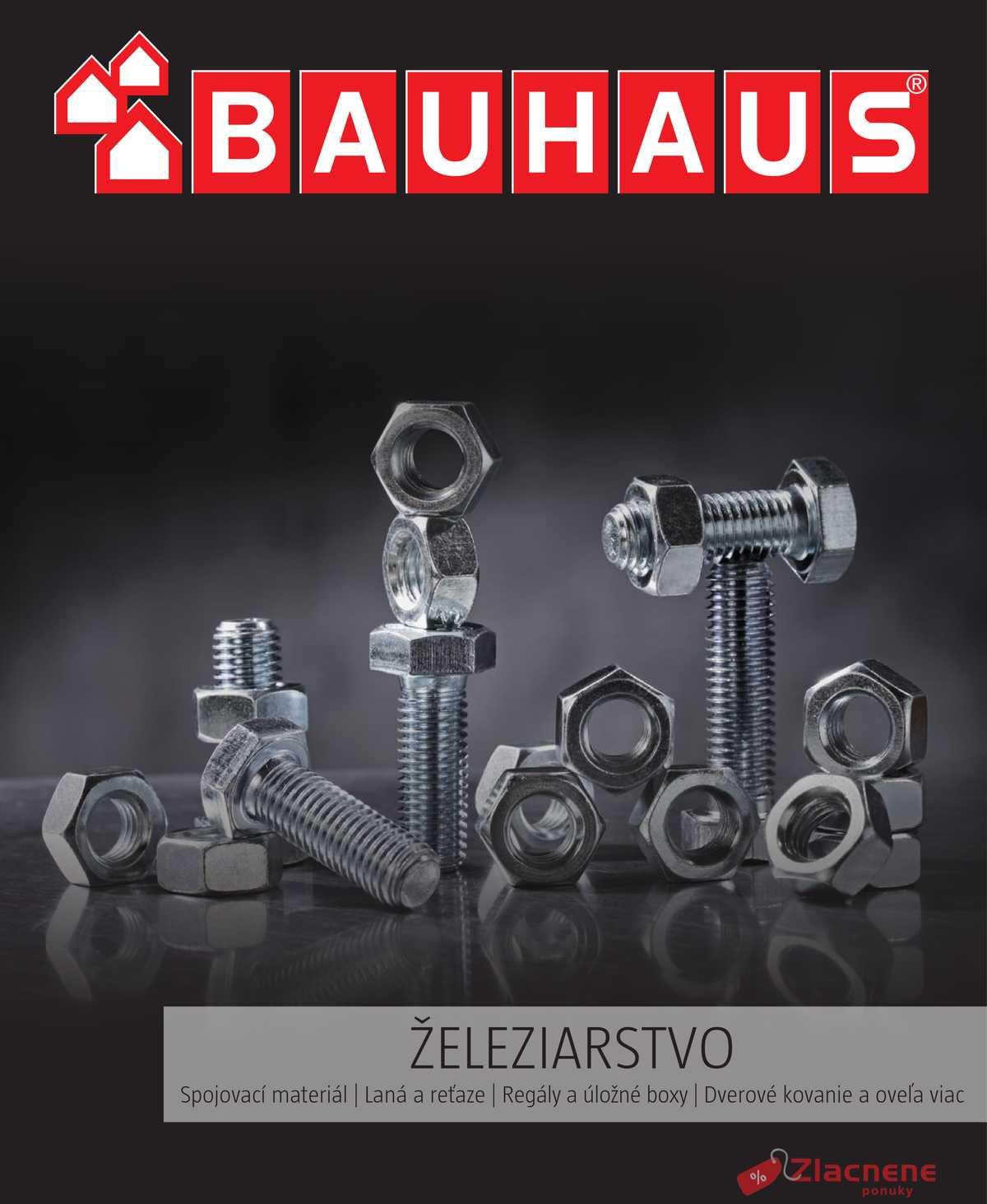 Leták Bauhaus - Bauhaus 6.12. - 31.3. Železiarstvo - strana 1