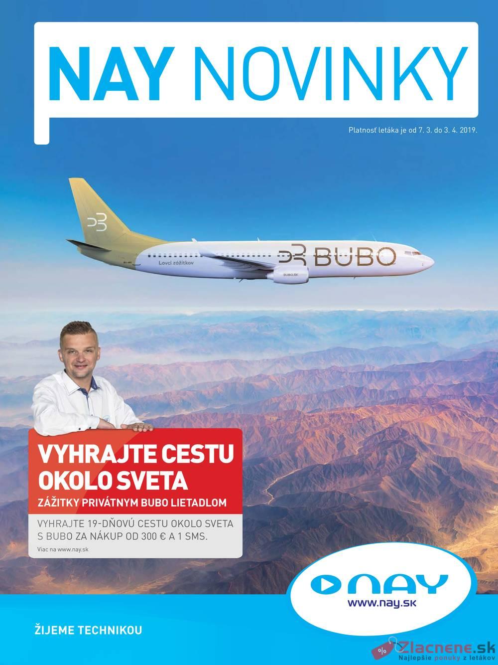 Leták NAY - Nay 7.3 - 3.4 - strana 1