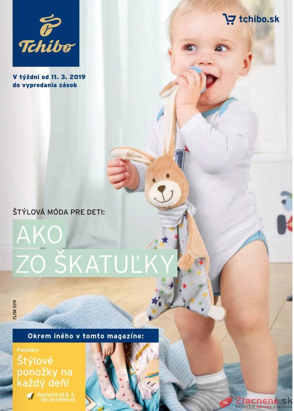Leták Tchibo - Tchibo magazín 12.3. - 23.4. - strana 1