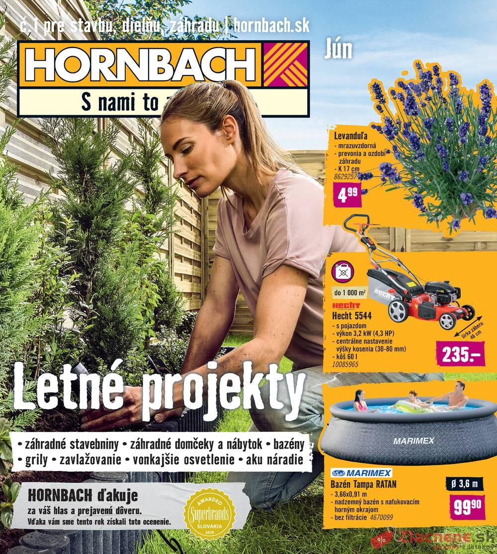 Leták Hornbach - Hornbach od 29.5. do 30.6.2019 - strana 1