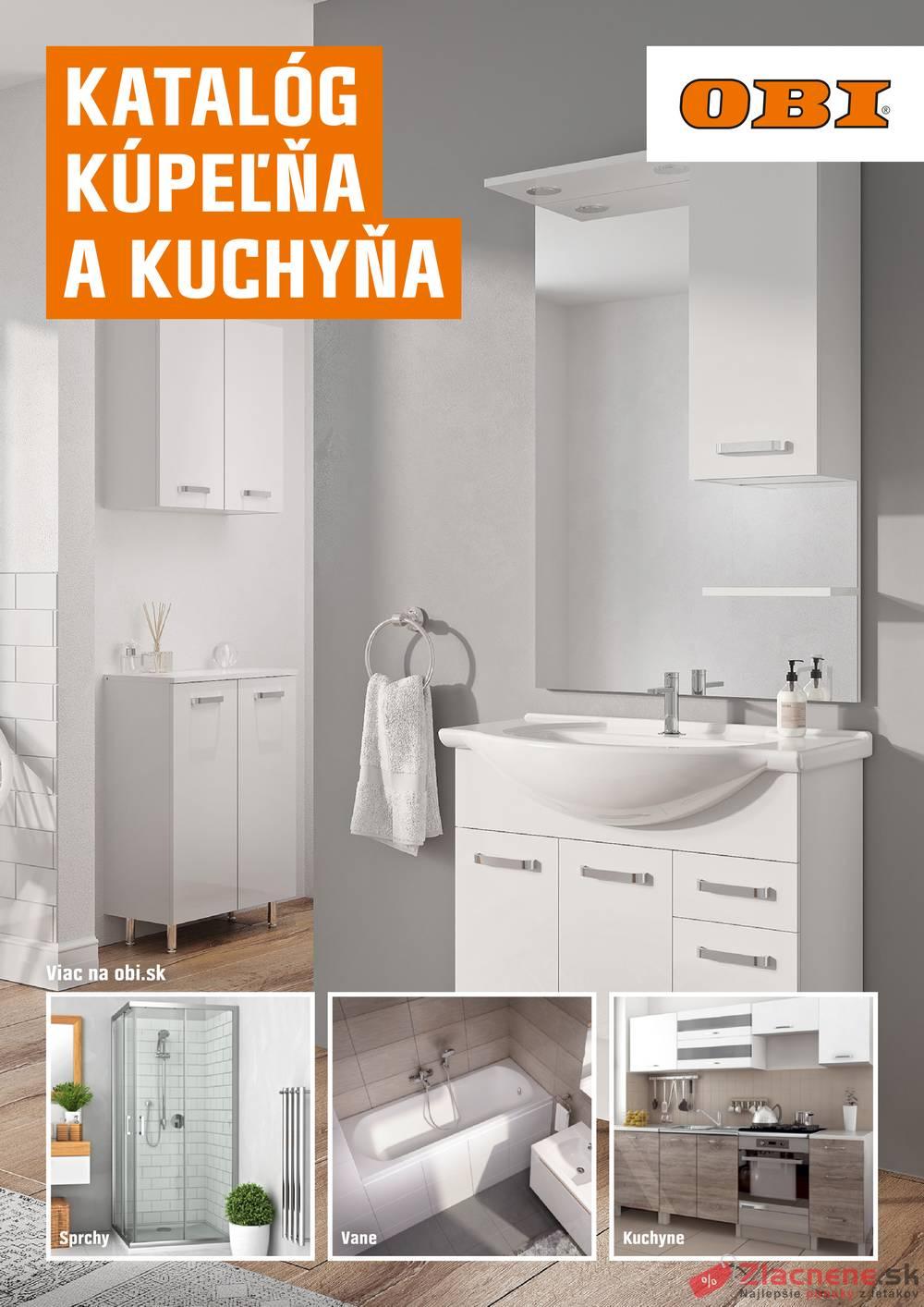 Leták OBI - OBI Kúpeľňa a kuchyňa od 1.9. do 29.2.2020 - strana 1