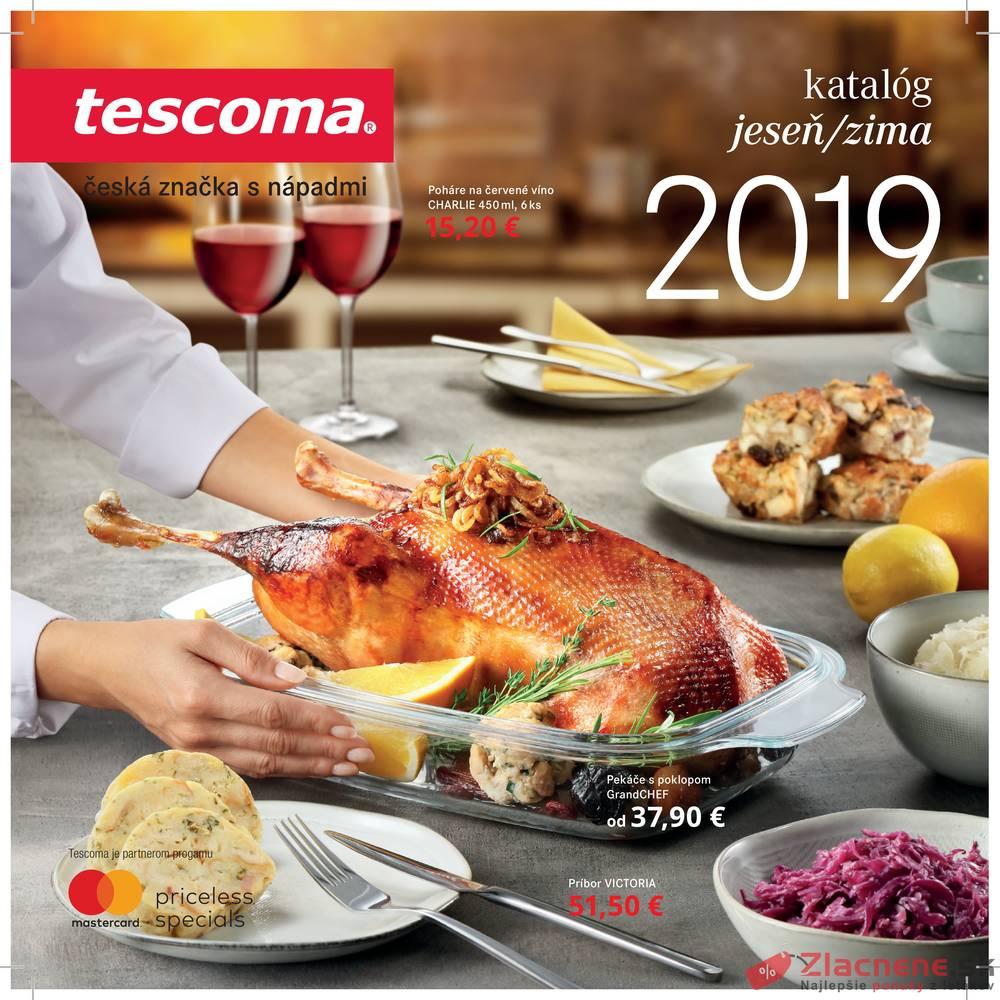 Leták Tescoma - Tescoma katalog od 1.11. do 31.12.2019 - strana 1
