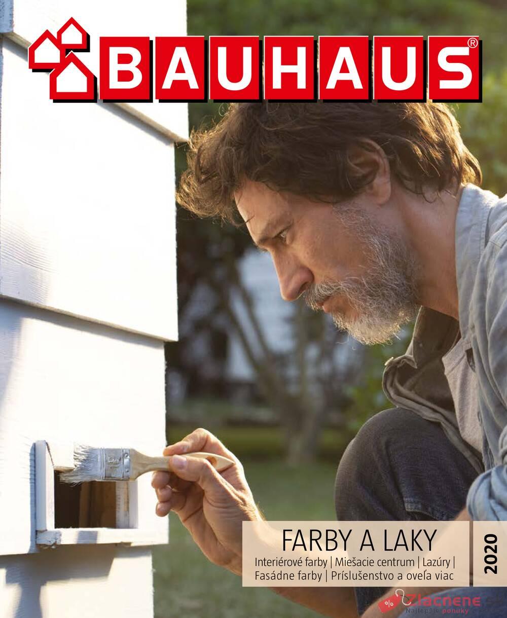 Leták Bauhaus - Bauhaus FARBY A LAKY 28.4. - 30.10. - strana 1