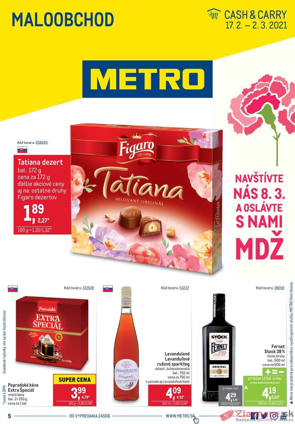 Leták METRO - METRO Maloobchod od 17.2. do 2.3.2021 - strana 1