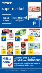 Leták Tesco supermarkety od 21.4. do 27.4.2021
