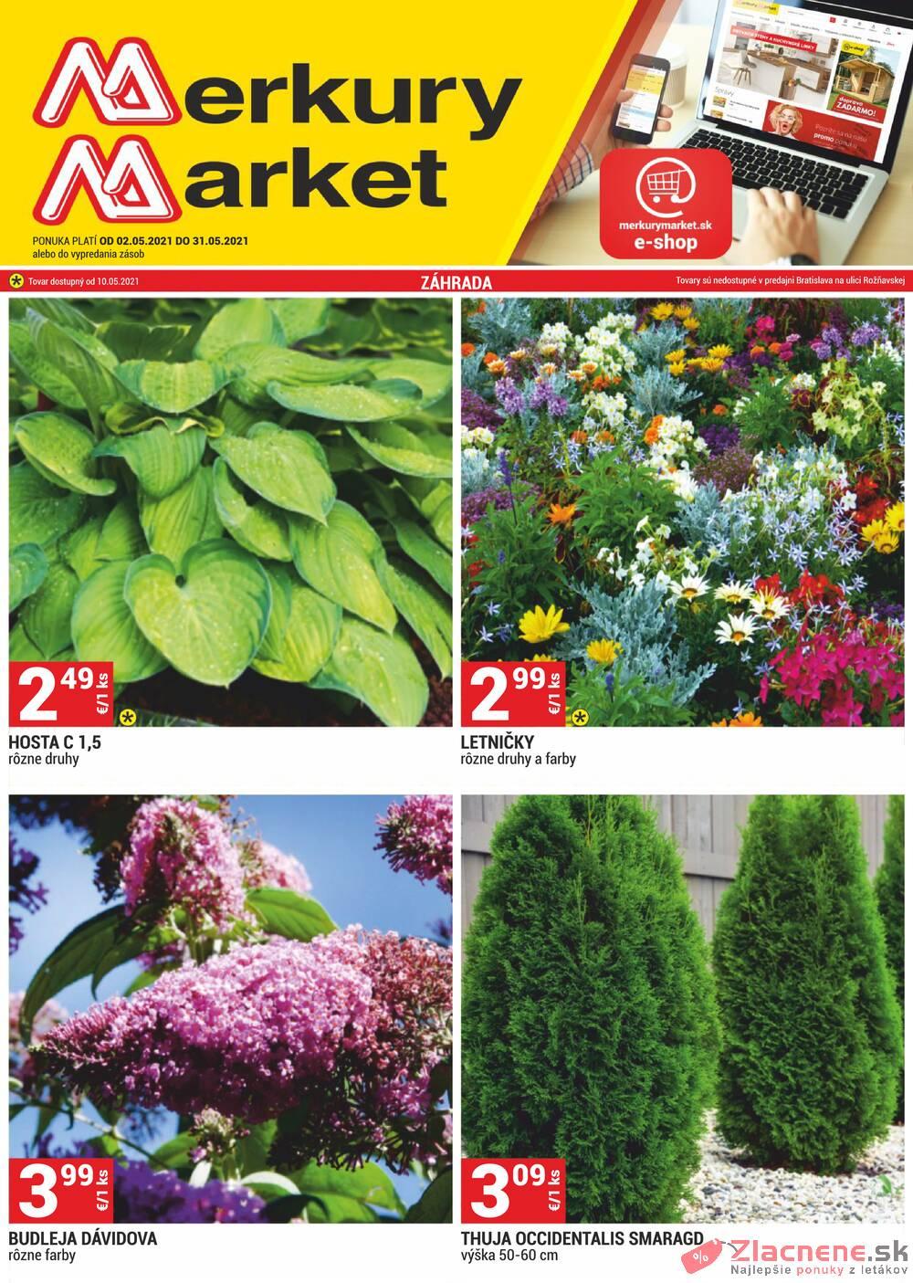 Leták Merkury Market - Merkury Market do 31.5. - strana 1