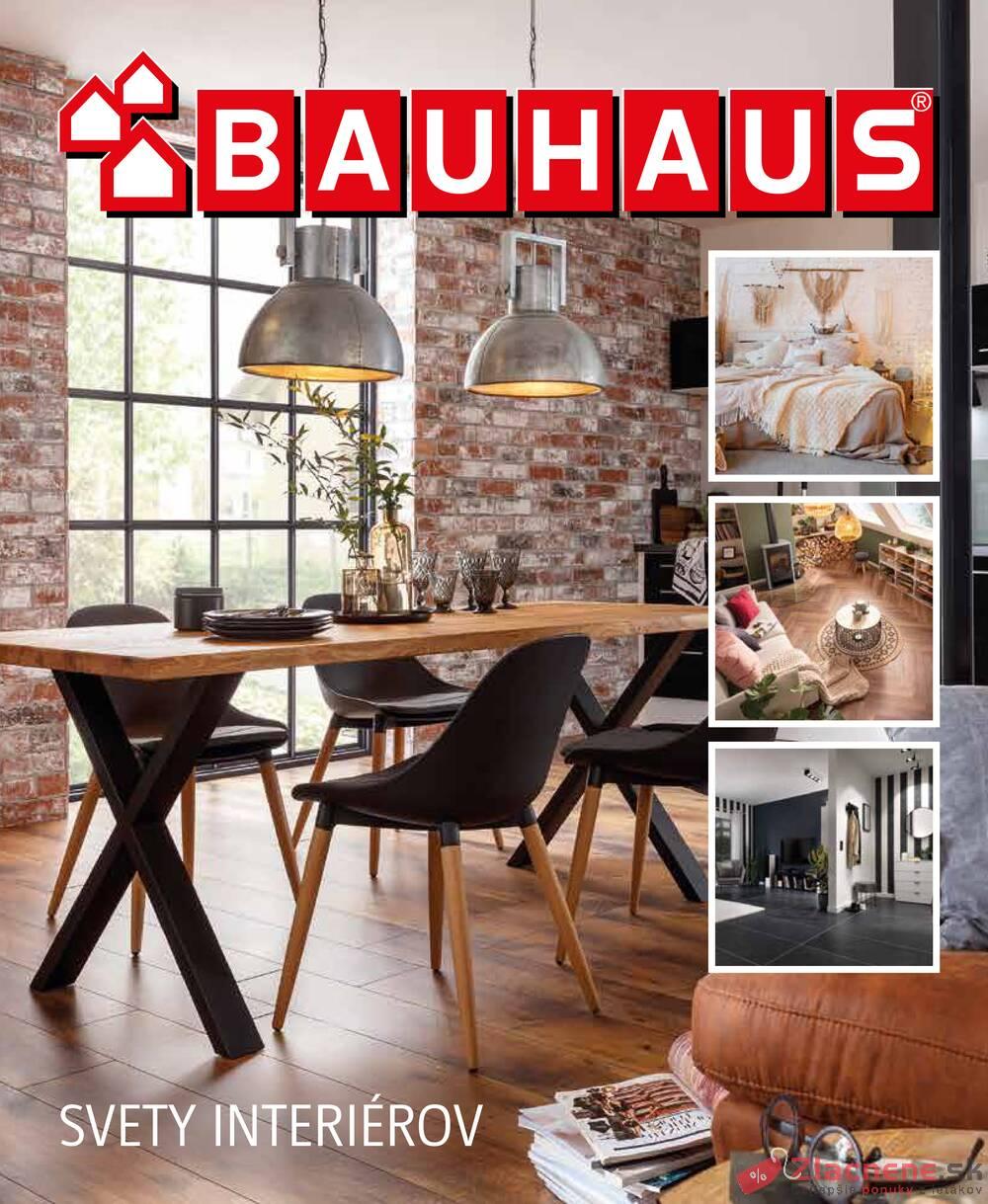 Leták Bauhaus - Bauhaus SVETY INTERIÉROV 11.10. - 31.12.2022 - strana 1