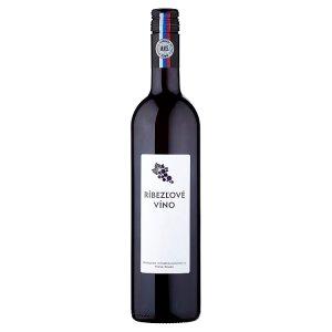 MVS Ríbezľové víno 0,75 l