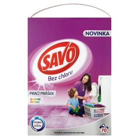 Savo Prášok na pranie 70 praní 4,9 kg