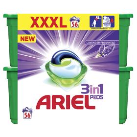 Ariel Pracie Kapsuly 56 praní (2x28ks)